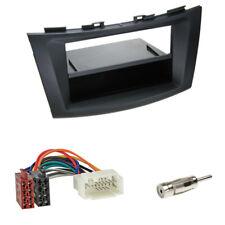 Suzuki Swift (FZ/NZ) ab 09/2010 2-DIN Blende mit Fach schwarz + ISO Adapter Set
