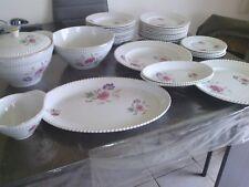 LUNEVILLE KG badonviller service de table 36 pièces
