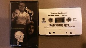 The Breakfast Garçons - Here Come The Skeletons' 94 Privé Art Rock Alt Cassette