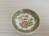 Vintage or Antique Chinese Famille Rose Mini Bowl 2 5/8'' W  # 5