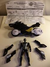 Power Rangers RPM Black Ranger Cycle Motorcycle Vehicle FULL THROTTLE FIGURE *