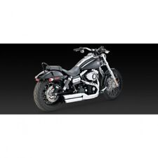 Muffler twin slash 3 chrome - Vance & hines 16845