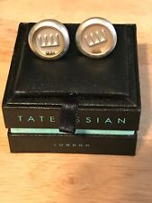 MIB Tateossian cufflinks balls & maze moving play action cuff links orig. $165
