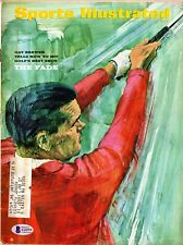Gay Brewer Signed Autographed Sports Illustrated Magazine SI 8/7/67 BECKETT COA