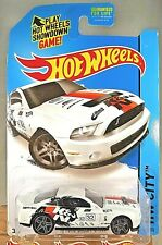 2015 Hot Wheels #11 HW City-HW Performance '10 FORD SHELBY GT500 White wGryPr5Sp