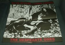 """GLYN STYLER / LYDIA LUNCH POSTER 17""""x 17"""" THE DESPERATE ONES TRUCKSTOP ATAVISTIC"""