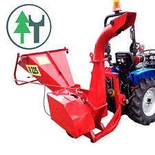Häcksler Schredder H225 Holzhäcksler Buschhacker mit Zapfwellenantrieb Traktor