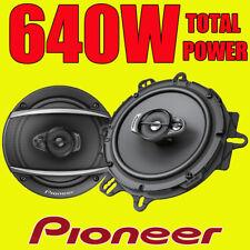 Pioneer 600w total de 3 vías 6.5 Pulgadas 16,5 Cm coche door/shelf Altavoces Coaxiales Par
