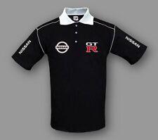 Herren Polo Shirt Nissan GTR Racing Bestickt Gr. S-XXXL, Free Shipping Europe