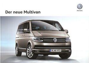 Prospekt / Brochure VW Multivan 06/2015