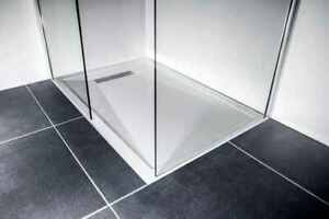 Simpsons Shower Tray 1500 x 900mm 57kg with Installation Kit