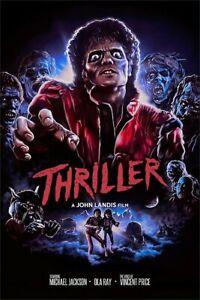 Michael Jackson Thriller Poster 13x19 Art Print High Quality B2G1 Free