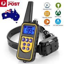 Anti Bark Electric Shock Dog Pet Training E-Collar Obedience Remote Control AU