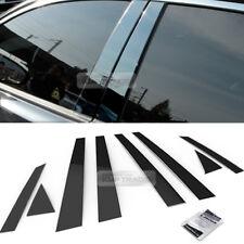 Stainless Steel Black Window Pillar Molding 8Pcs For CHEVROLET 2005-2007 Optra