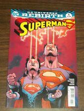 SUPERMAN #6 DC UNIVERSE REBIRTH NM (9.4)