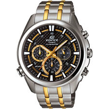 Casio Edifice Men's Quartz Illuminator Chronograph 45mm Watch EFR537SG-1AV
