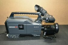 Sony Uvw-100B Pro-Betacam Sp Professional Camcorder & Accessories * No Reserve
