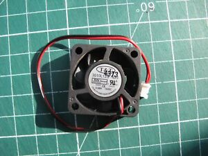 VENTILATEUR  30mm x 30mm x 8mm 12 VDC 0.08 A