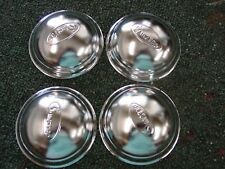 NEW MURRAY STYLE PEDAL CAR HUB CAPS  CHROME