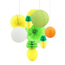 Set of Pineapple Paper Lantern Ball Hawaii Party Wedding Summer Festival Decor