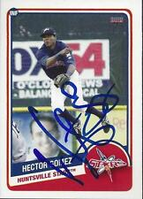 Hector Gomez 2013 Huntsville Stars Signed Card