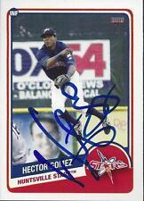 Hector Gomez 2013 Huntsville Stars Signed Card