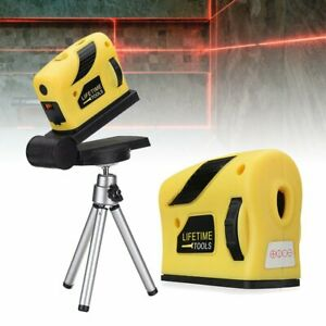 Self Leveling Point Line Cross Horizontal Vertical With Tripod 3D Laser Level UK
