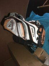 Callaway ORG 14 Cart Bag. Used. One Pocket Ripped.See Pics 11-12. Zippers Work.
