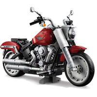 1037PCS Technic Harley style Motorcycle Bike MOC Model Building Blocks Toys Kids
