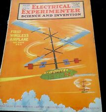 RARE!! ELECTRICAL EXPERIMENTER/SCIENCE AND INVENTION, JAN., 1920 (# 28)