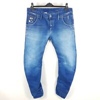 G-Star Jeans Arc 3D Slim Herren W36 L34 Blau Tapered Distressed 50783 5189 0071