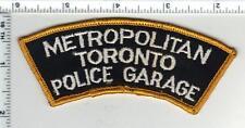 Metropolitan Toronto Police Garage (Canada) Shoulder Patch from the 1970's  RARE