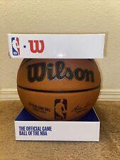 Wilson NBA Official Game Basketball New