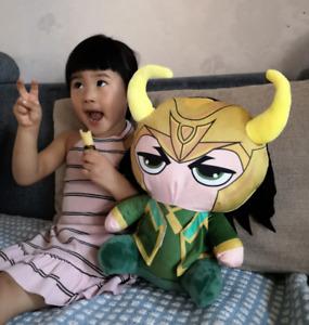 "Big Size Disney Marvel Loki Mini Soft Plush Toys Dolls Kids Gifts 14""/35cm New"