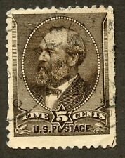 US 205 James A Garfield - American Bank Note Co - Used w/APEX Certificate VF-XF