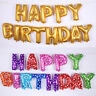 Eg _ Fm- DR7 Joyeux Anniversaire Lettres Aluminium Ballons Enfants Décoration