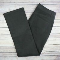 J. Hilbrun Men's Classic 5 Pocket Sueded Twill Pants Size 32 Dark Brown