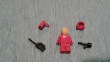 LEGO Minifigure sp005 Space Man Red w/ tools Rare  Vintage mini fig figurine