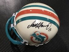 Dan Marino Autographed Throwback Mini Helmet W COA and Case