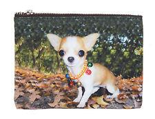 Chiwawa Tasche Chihuahua Schminktasche Kosmetiktasche Geldtasche by Ella Jonte