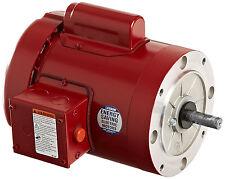 Leeson Electric Motor 113290.00 56C Frame 1/3 HP 1725 Rpm 1-PH 115/208-230 volt