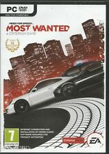 Need for Speed: most Wanted multil./dt. (PC, 2014 DVD-box) con origin key código