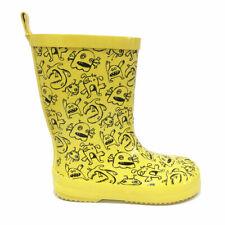 Monster yellow wellington boots EU29