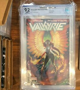 VALKYRIE Jane Foster 1 CBCS CGC 92 Hetrick Variant 🔥 Death Of Gold Rush 🔥 POP