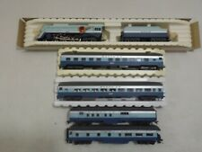HO Rivarossi Santa Fe Blue Goose train set