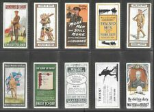"""WILLS 1915 SCARCE ( MILITARY POSTERS ) FULL 12 CARD SET """""""" RECRUITING POSTERS """""""""""