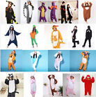New Onesie Animal Unisex Kids Adult Pajamas Kigurumi Sleepwear Cosplay Costume