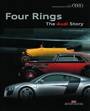 FOUR RINGS - THE AUDI STORY HB BOOK NEW AND SEALED CARS INTEREST TRANSPORT