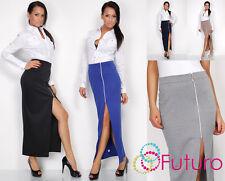 Elegance Formal Women's Skirt with Zipper Soft Fabric Office Style FK1197