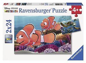Ravensburger Disney Nemo's Adventure 2 puzzles set, 24-Piece each, MINT!!